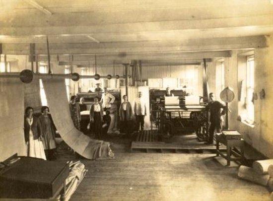 the old Thomas Ferguson mill - Picture of Fergusons Irish Linen