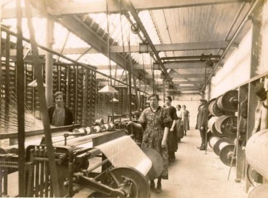 the old mill - Picture of Fergusons Irish Linen Factory, Banbridge