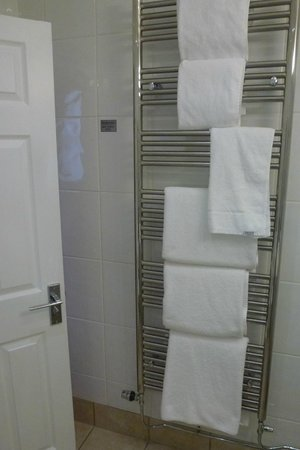 The Imperial Hotel: no shortage of towels
