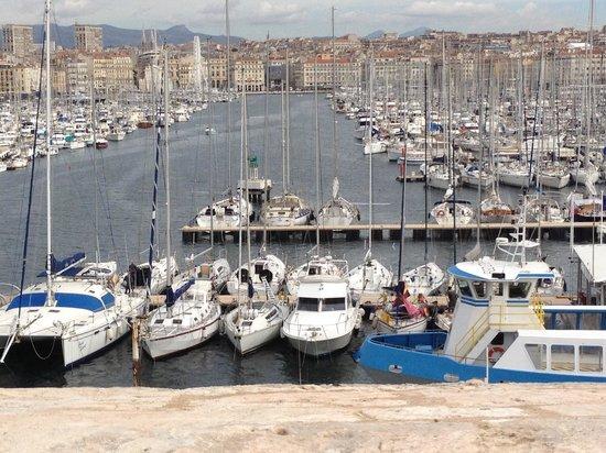 Alter Hafen (Vieux Port): Vieux port vu du cercle militaire
