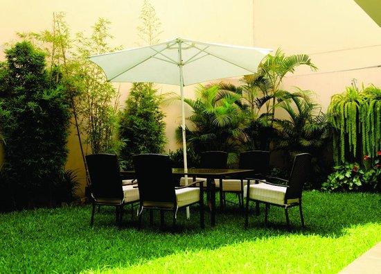 Hotel San Blas: Terraza