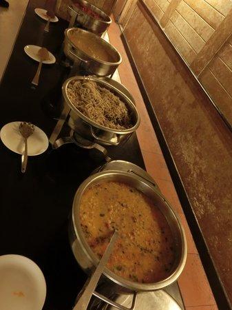 Grand Hotel Agra: 夕食
