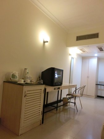 Grand Hotel Agra: 室内、明るさは十分