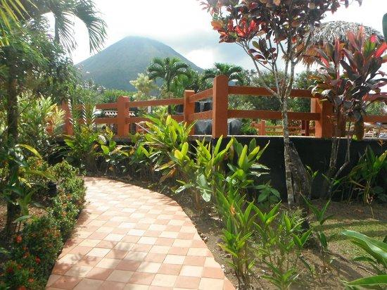 Hotel La Pradera : camino por los alrededores hacia la pileta