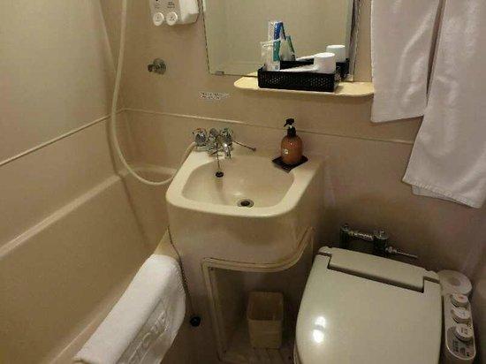 Hotel Paco Obihiro 2 : 6 バス・ルーム