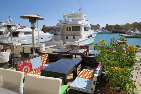 Le Garage - Gourmet Burger: Beautiful view on the marina