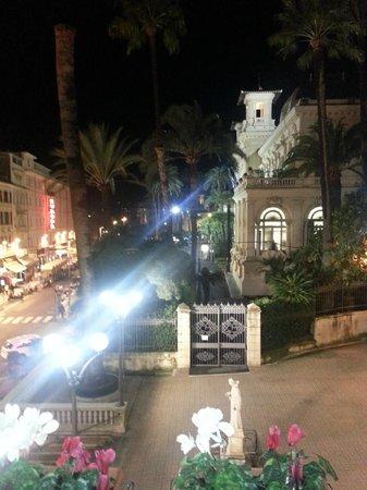 Best Western Hotel Nazionale: Vista verso il casinò di sera