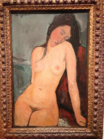 "The Courtauld Gallery: Amedeo Modigliani - ""Female Nude"""