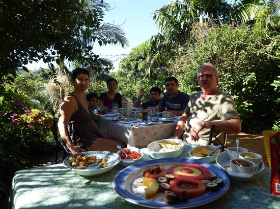 Eden Atenas: one of the many wonderful breakfasts created by Jan