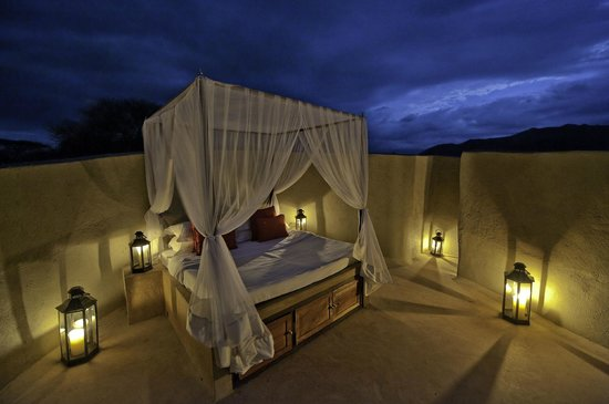 Amboseli Eco-system, Kenya: Enjoy a sleep out like no other at ol Donyo Lodge