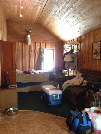 Lake of the Clouds Resort : Inside Deer cabin