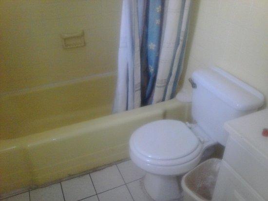 Zinn Inn: dirty bathroom