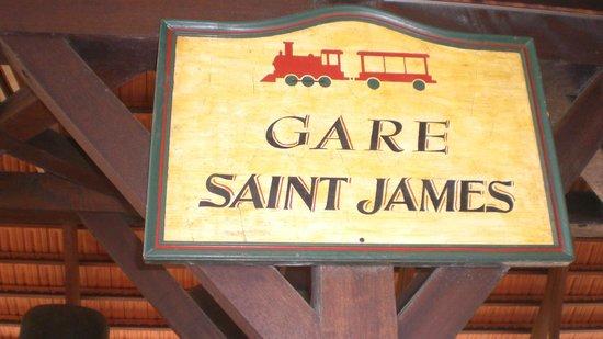 St. James Distillery & Rum Museum: la gare