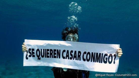 Cozumel H2O: THE moment