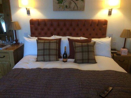 The Oak Tree Inn, Helperby: Massive comfy bed