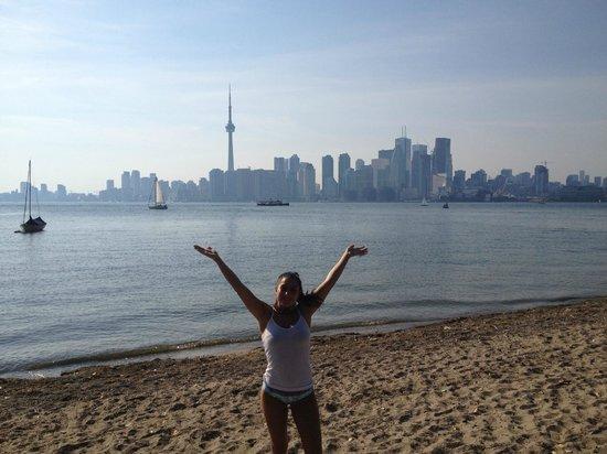 Centre Island: Toronto Skyline