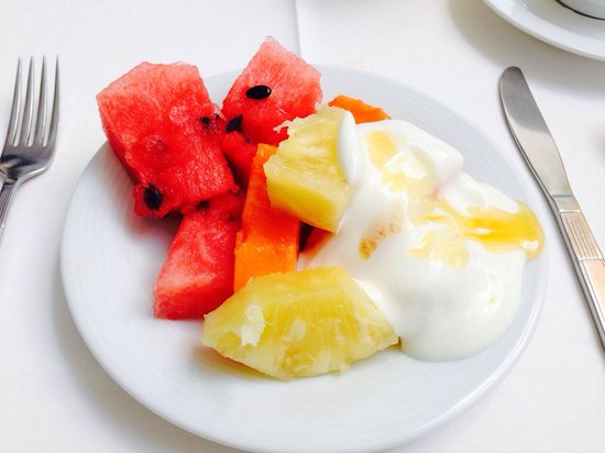 Suites Colonial : Frühstück