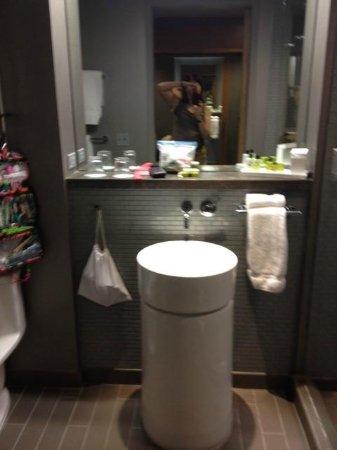 Loews Chicago O'Hare Hotel: Modern bath