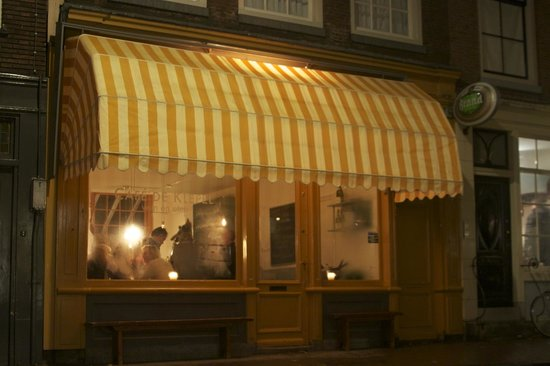 Photo of Modern European Restaurant Cafe De Klepel at Prinsenstraat 22, Amsterdam 1015 DD, Netherlands