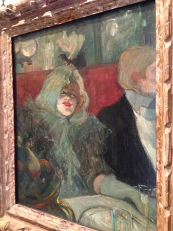 """The Courtauld Gallery: Henri De Toulouse - Loutrec -""""In a Private Dining Room"""""""