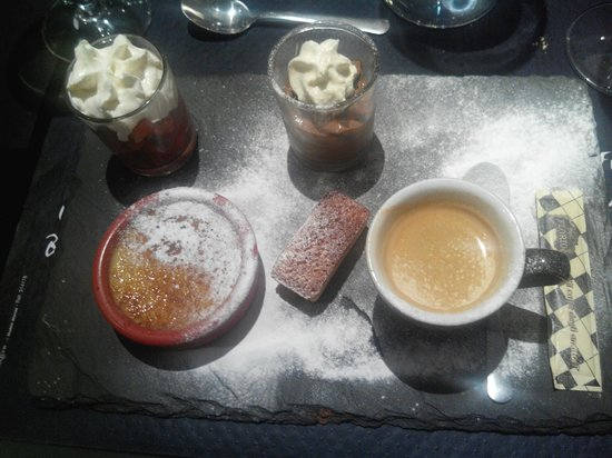 Bistrot de France : Café gourmand