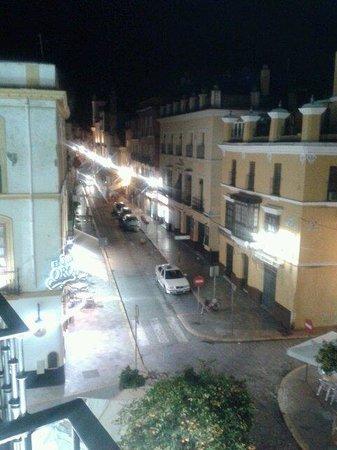 El 3 de Oro : vista desde la habitacion del hotel Puerta de Sevilla