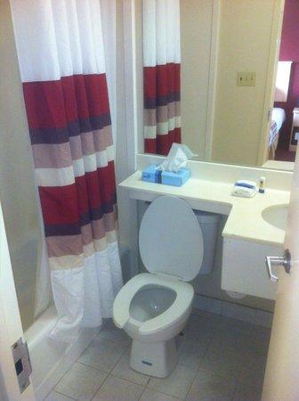 Red Roof Inn Queens: Bathroom