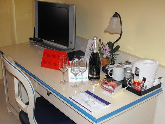 Hotel Lovere Resort & Spa : ottimo benvenuto