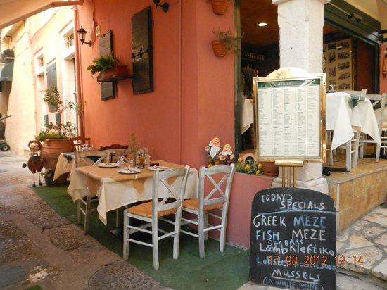 MarBella Corfu Hotel: Corfu Town Restaurant