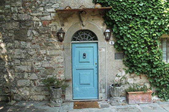 Villa San Clemente XIII Century: Our Door.