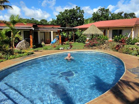 Hotel Gomero : jardin et piscine