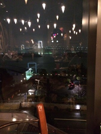 Cafe La Boheme Odaiba: View from our table
