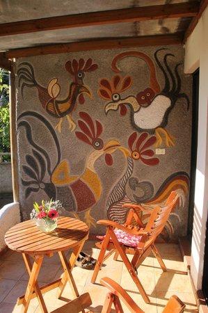 Hotel Gomero : terrasse
