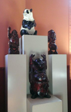 Panda House Chinese Restaurant: Interior decor