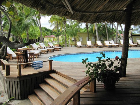 Turneffe Island Resort: Swimming Pool