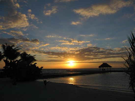 Turneffe Island Resort : Sunrise