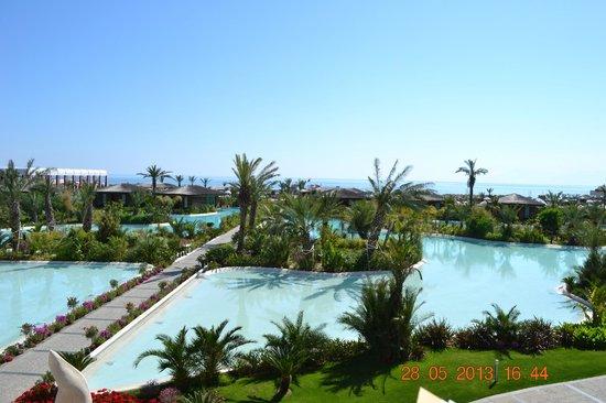 Maxx Royal Belek Golf Resort: вид из балкона