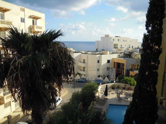 Il Palazzin Hotel: Vue sur la mer