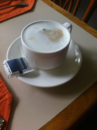 Barceló San José: Best breakfast cappuccino!