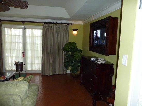 Sandals Montego Bay : Living room area