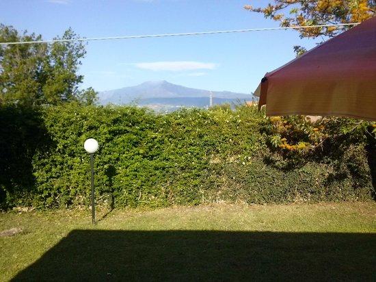 Villaggio Artemide: vue de notre chambre (Etna)