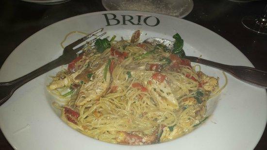BRIO Tuscan Grille: Pasta Pesto