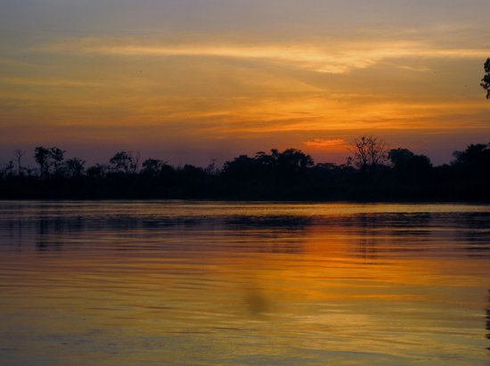 Libertad Jungle Lodge: Atardecer en el Amazonas