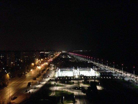Makedonia Palace: Вид с верхнего этажа
