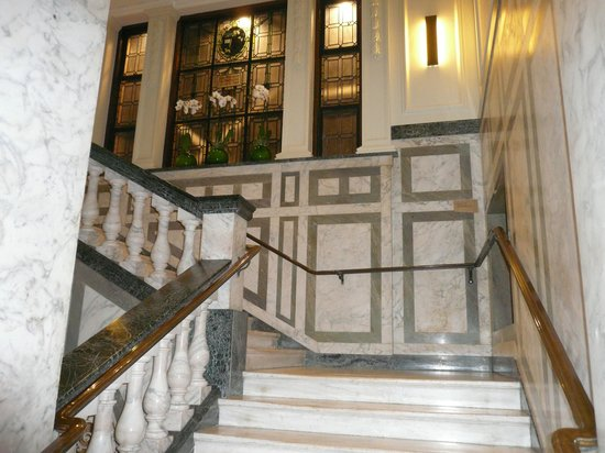 Town Hall Hotel: The stairs