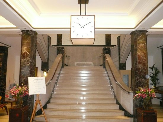 Town Hall Hotel: The Lobby Stairs