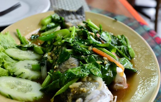 Royal Tandoor : Steamed Fish in soy sauce