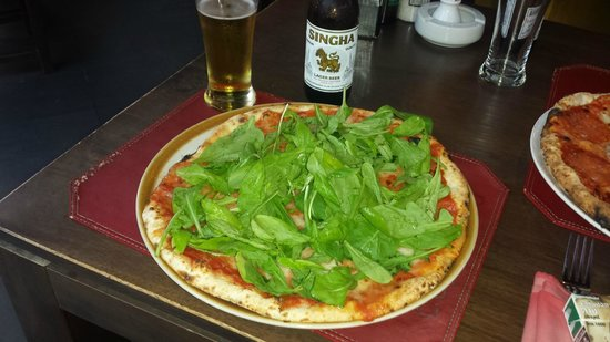 Capannina by Limoncello: Pizza Roccet :-) så god.
