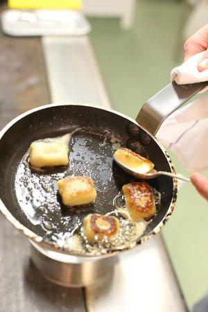 The Vine Goudhurst: salt fish dumplings