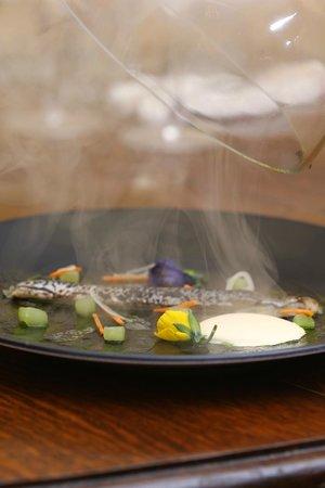 The Vine Goudhurst: smoked mackerel